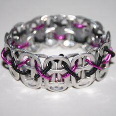 Pop Can Tab Bracelet - craft/fundraising idea