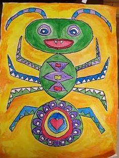 Big Symmetrical Bugs! -2nd grade