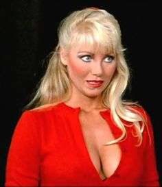 Actress Angela Aames was born in South Dakota.   (February 27, 1956 – November 27, 1988) was an American actress known for her buxom blonde bombshell image.