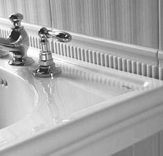 Imperial Bathrooms Edwardian Dado Vert Tile Pack - IMPER0211  Ceramic Border Tiles from UK Bathrooms