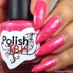 Sassy Paints: Feel Em' Up from the Breast Cancer Awareness Box by Polish TBH & Jaded Nail Co.