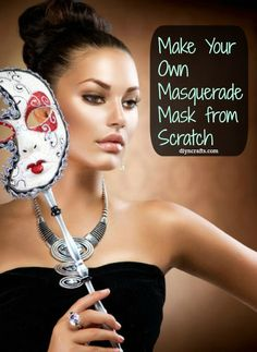 Make your own masquerade mask! DIY
