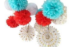 Love these for the Fourth! Asst. of 15 Freedom Poms, Gold on OneKingsLane.com