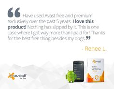 #AVAST is the most trusted #antivirus in the world