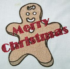 MERRY  CHRISTMAS GINGERBREAD