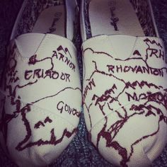 I would love to wear these all the time but never would for the fear of ruining them -Lord of the Rings Shoes