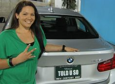 """""""I didn't join because of the BMW but it sure is nice to have a beautiful car to drive that is being paid for!"""" - Alexandria Duran"""