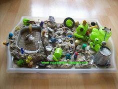 Trash pack landfill