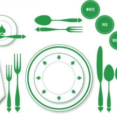 The Proper Place Setting {Tablescape}