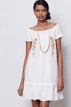 smocked dresses, summer dresses, fashion, style, anthropologie