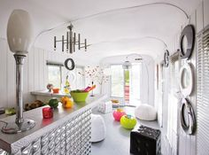 remodeled travel trailer