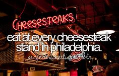 maybe not EVERY... but pat's, geno's, and tony luke's... the BEST one is tony luke's!!!