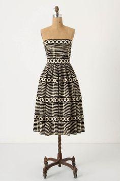 lattic ring, full skirts, summer dresses, patterns, anthropologie, ring dress, prints, black, belts