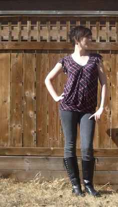 Free pattern download for a super cute top!