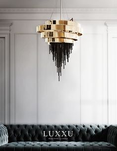 Add our luxury lighting fixtures to your next interior design project! More lighting ideas for your living room decor project at luxxu.net #livingroom #luxury #luxuryfurniture #interiordesign #interiordesignideas #lighting #lightingdesign #homedecor #decor