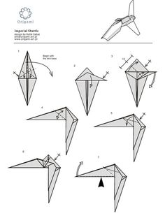 Origami Star Wars Princess Leia Instructions