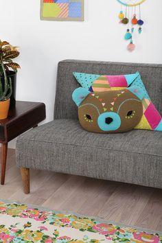 Beci Orpin Bear Pillow