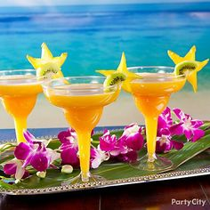 Mango Margaritas are a perfect way to chill out on a warm summer night. Click for the recipe!