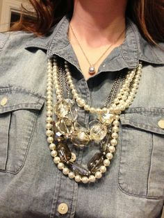 TREND ALERT! Drops of STACKED pearls! (Opening Night and Swanky from #premierdesigns )