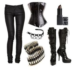 black gothic, fashion, bondag style, cloth, gothic outfits, party outfits, metal girl style, black metal girls, belts