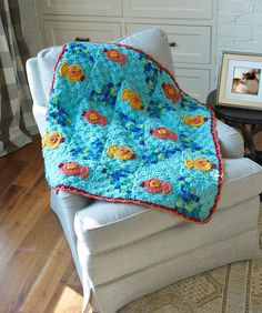 Comfort Your Kitty Throw ~ pattern
