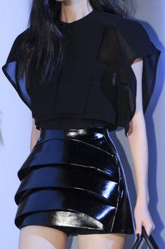 Thierry Mugler - Patent Skirt