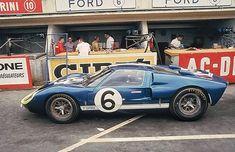 Andretti - Binanchi Ford GT40 Mk. II at Le Mans...