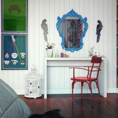 Modern Pop Art Interior by Dmitriy Schuka | HomeDSGN