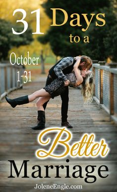 31 Days to a Better Marriage Series