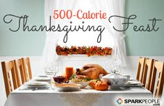 9 Recipes for a Healthy, Low-Calorie Thanksgiving Feast | via @SparkPeople #food #diet #holiday #fall