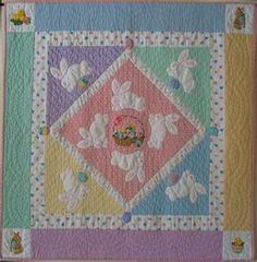Easter/spring quilt - so cheerful ♥