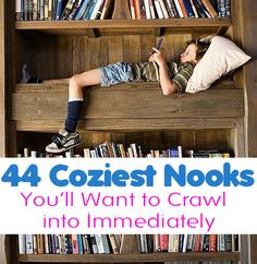 44 Cozy Nooks You'll Want To Crawl Into Immediately | Femour.com