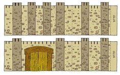 Walls of Jericho Craft | Big Book Follow The Cloud (Moses) A4 Landscape Front cover: PDF ...