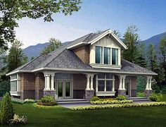 Exterior craftsman houses, craftsman style homes, garage plans, dream, floor plan, garages, hous plan, garag plan, house plans