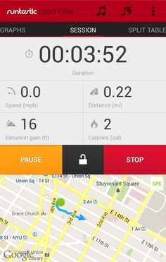 Runtastic redesign on Androidniceties More at http://atechpoint.com/ #tech #atechpoint