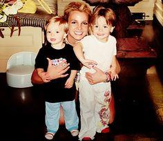 Britney, Sean Preston & Jayden James [Candids]