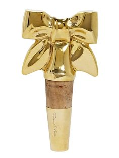 bow wine stopper.
