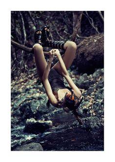 ONCE WERE WARRIORS -  Photographer: Petrovsky & Ramone  Magazine: Vogue Netherlands  Model: Rianne ten Haken