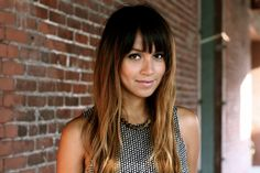 my ombre hair with bangs...  <3  www.sincerelyjules.com
