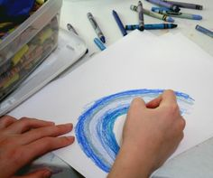 Blue-Mania: 5 Kids Crafts Exploring the Color Blue