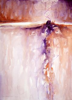 """Vortex"" - watercolor By Lynda Hoffman-Snodgrass"
