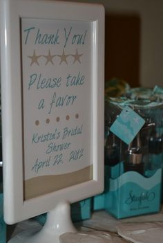 Live Smile Celebrate: Beach Themed Bridal Shower