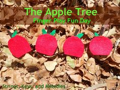 Finger Play Fun Day:  The Apple Tree