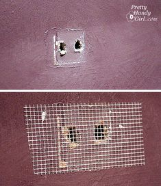 Painting Like a Pro - How to repair holes, and wall imperfections (step 1)