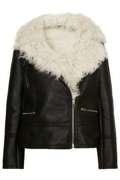 #DearTopshop a snuggly shearling biker jacket