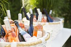 It's all about the rosé. @dominomag #serenaandlily