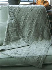 Reversible Afghan To Knit - Electronic Download