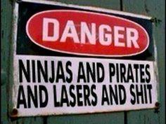 Danger Sign. Win.