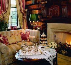 What a lovely spot for tea.    Linda L Floyd facebook..
