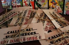 Jackson's Superhero 4th Birthday    CatchMyParty.com birthday parties, birthday idea, superhero birthday party, parti idea